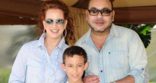 ملك المغرب محمد السادس وزوجته للا سلمى
