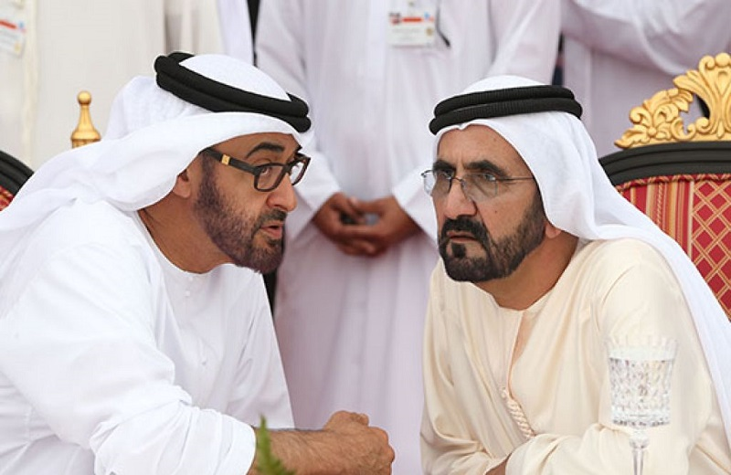 حاكم دبي كان يرفض السياسات الخارجية لبلاده منذ مدة