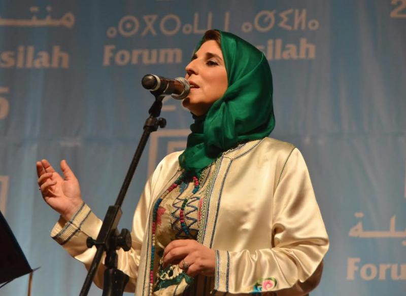 الفنّانة المغربية الشهيرة سلوى الشودري