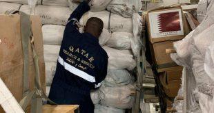 قطر من أوائل الدول التي قدمت مساعدات لمتضرري الفيضانات في السودان