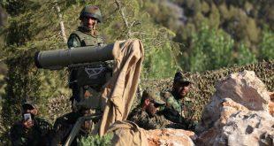 عناصر من تنظيم حزب الله اللبناني