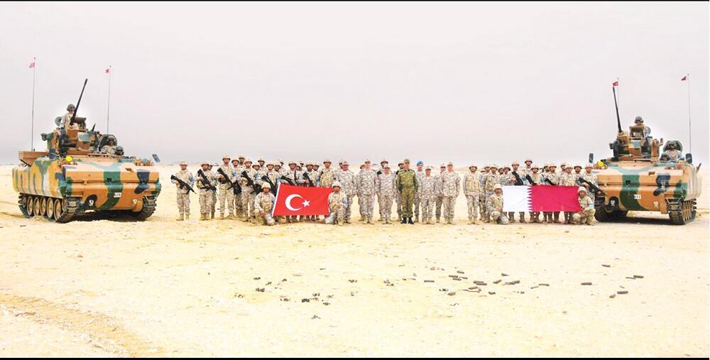 صورة افتتاح قاعدة عسكرية تركية جديدة في قطر قريبًا.. هذه أهميتها الاستراتيجية!