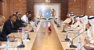 اجتماع بين رئيسي وزراء قطر والصومال