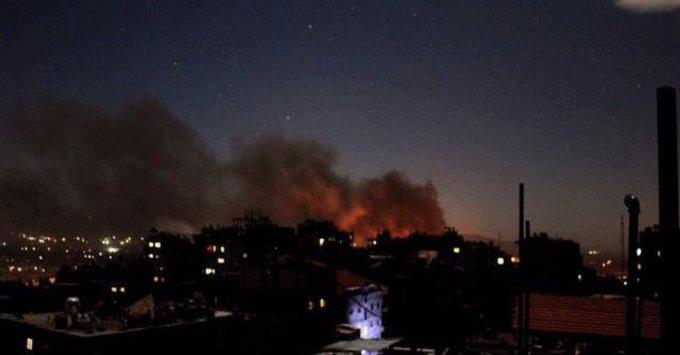 Photo of أعلنت إحباط عملية.. إسرائيل تقصف أهدافًا في بيروت ودمشق.. وحزب الله يتوعد!