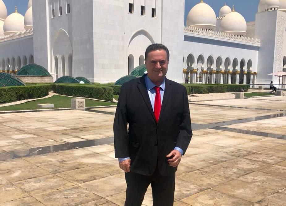وزير الخارجية الإسرائيلي خلال زيارته دولة الإمارات