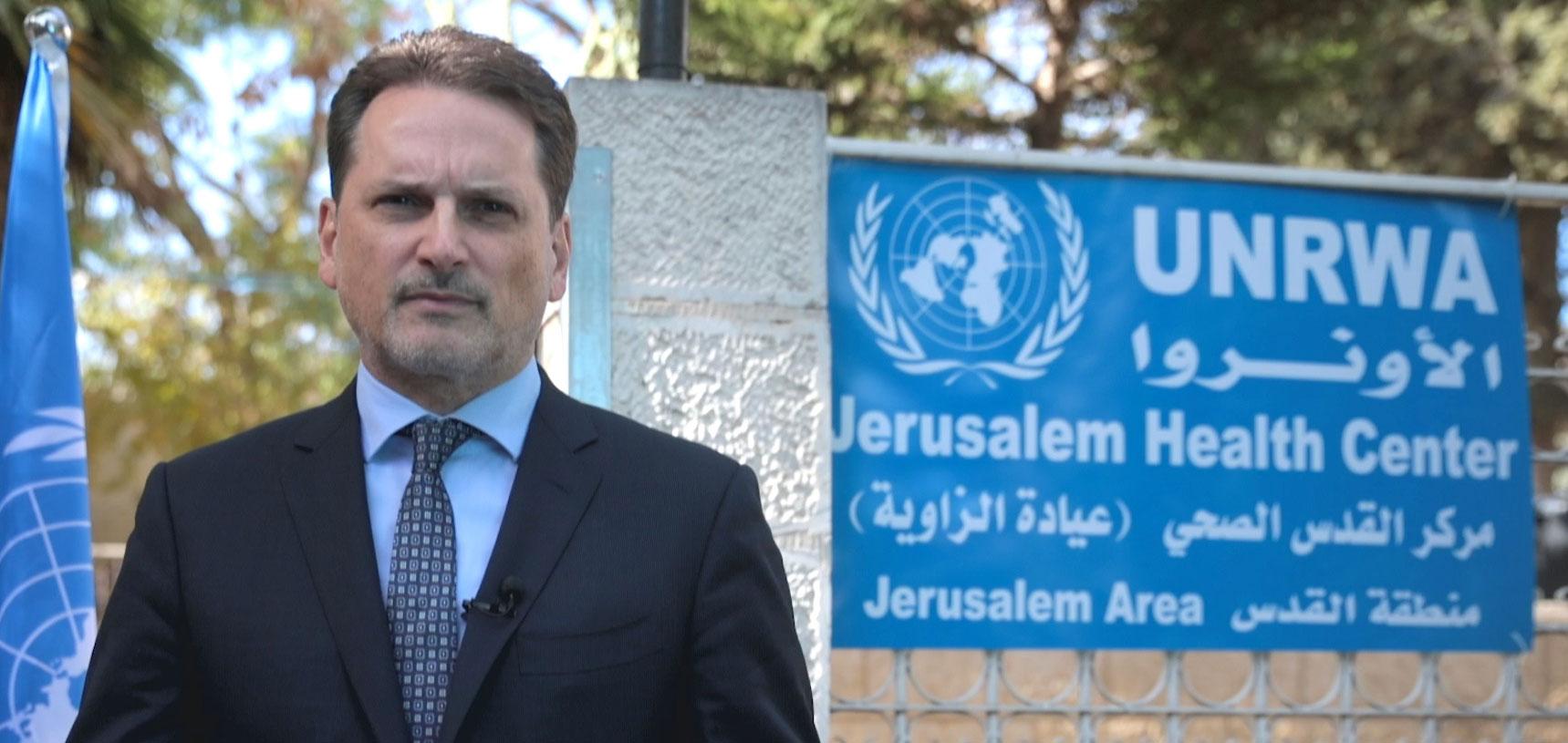 """بيار كراينبول المفوض العام لوكالة الأمم المتحدة لإغاثة وتشغيل اللاجئين الفلسطينيين """"أونروا"""""""