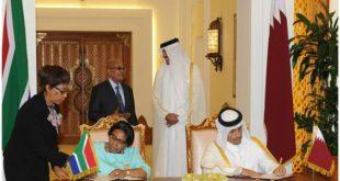 العلاقات بين جنوب أفريقيا وقطر تشهد تطورًا ملحوظًا