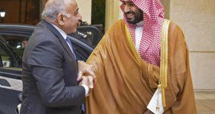 استقبال ولي العهد السعودي الأمير محمد بن سلمان رئيس الوزراء العراقي عادل عبد المهدي