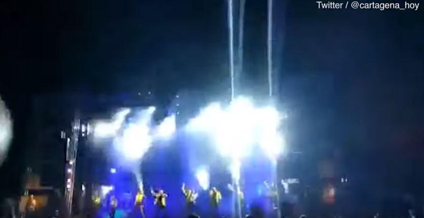 جانب من فيديو لمقتل مغنية بوب إسبانية