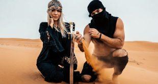 المؤثرون آجي لال ومورجان أوليفر ألين في الصحراء السعودية