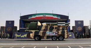 جانب من عرض عسكري إيراني