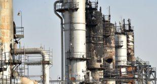 جانب من تضرر المنشآت النفطية السعودية في الهجوم