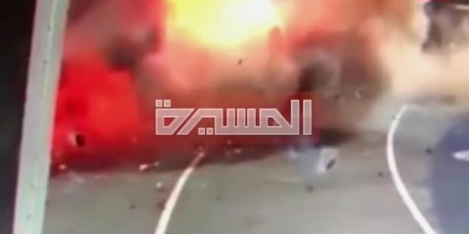 انفجار طائرة مفخخة داخل مطار أبوظبي الدولي وأعلنت جماعة الحوثي مسؤوليتها عن الهجوم