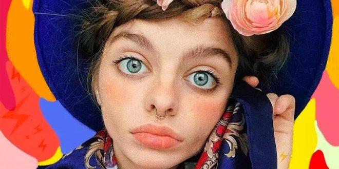 """صاحبة أوسع عيون في العالم الأوكرانية """"ماريا أوز"""""""