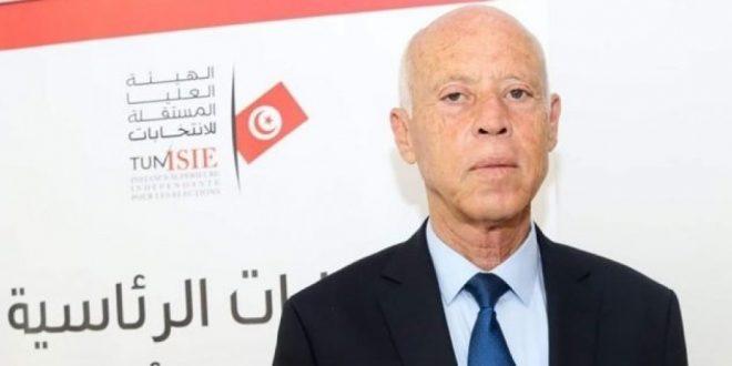 قيس سعيد متصدر انتخابات الرئاسة في تونس