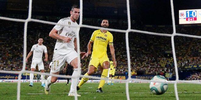 بيل يسجل الهدف الأول لفريقه ريال مدريد