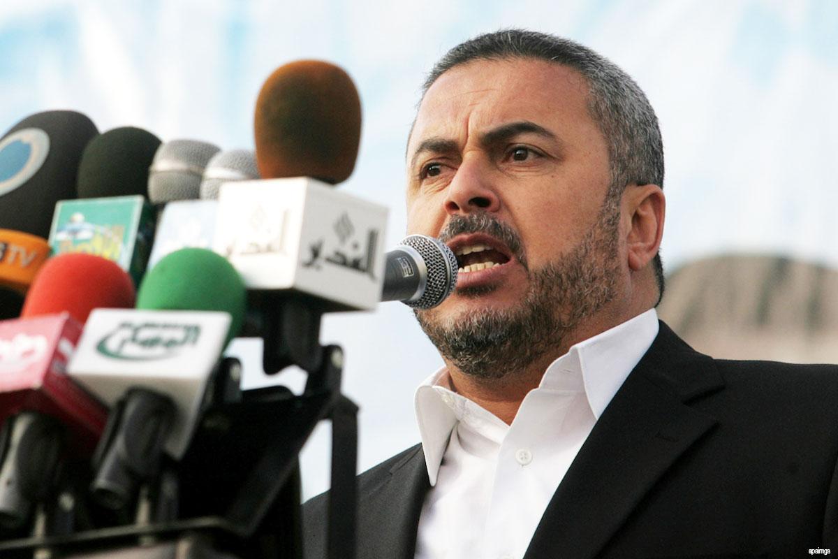 القيادي في حماس إسماعيل رضوان