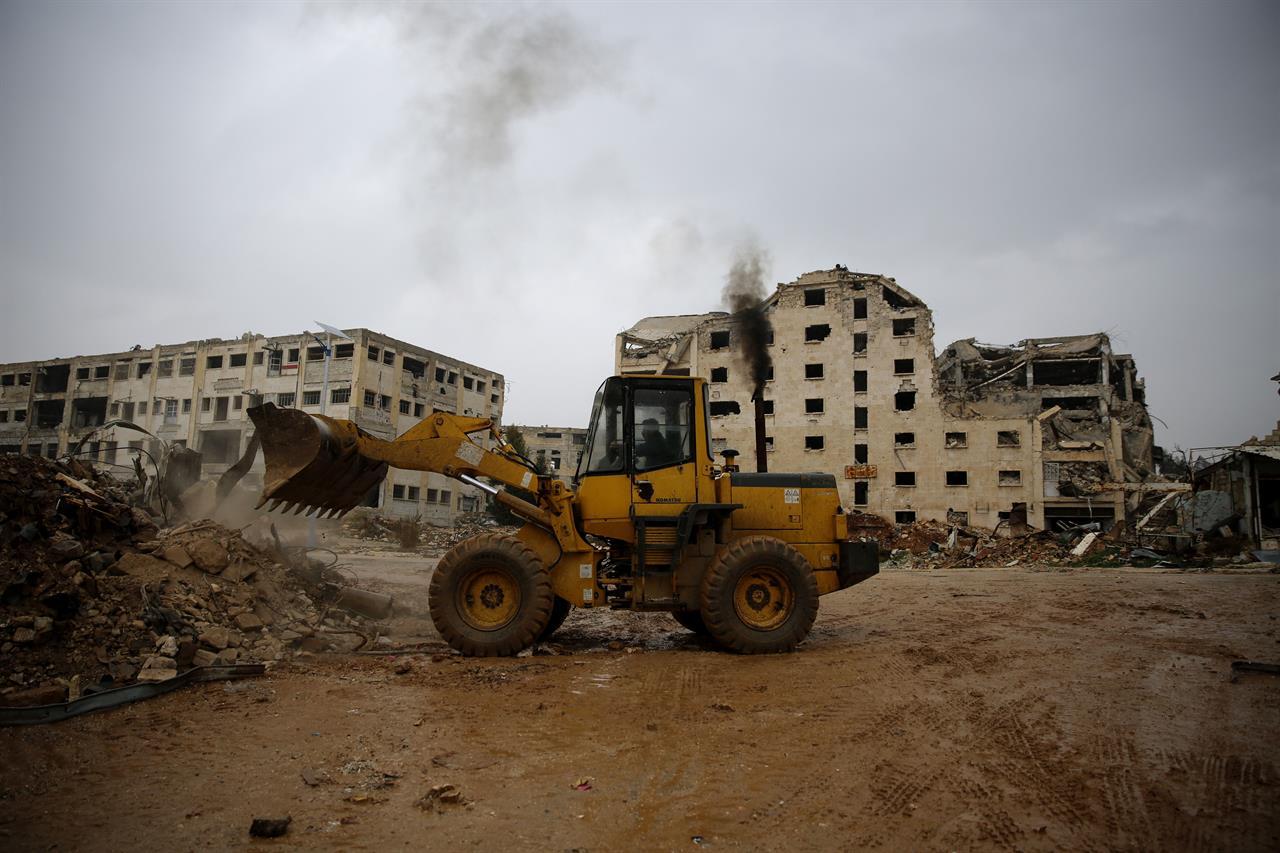 الحروب في اليمن وسوريا تسببت بدمار كارثي في البلاد