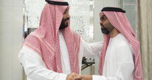 """طحنون بن زايد آل نهيان مستشار الأمن الوطني و""""رجل الظل"""" في الإمارات مع محمد بن سلمان ولي العهد السعودي"""