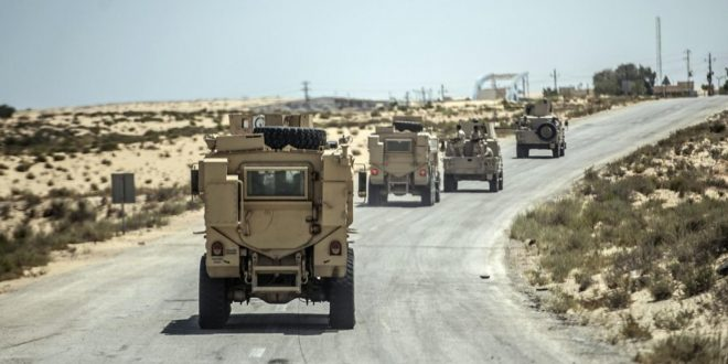 الجيش المصري يقاتل منذ سنوات للقضاء على داعش في سيناء