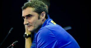مدرب نادي برشلونة الإسباني إرنستو فالفيردي