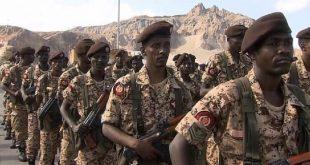 عناصر من الجيش السوداني في اليمن