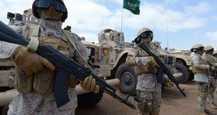 عناصر من الجيش في السعودية