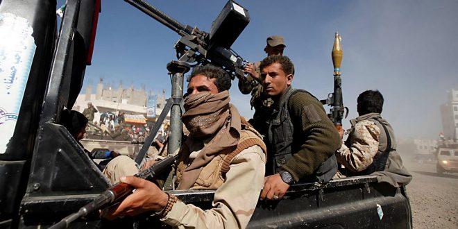 عناصر مسلحة من جماعة الحوثي في اليمن