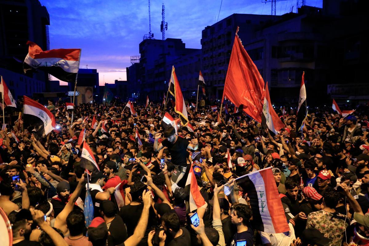 الاحتجاجات مستمرة في العراق منذ 1 أكتوبر
