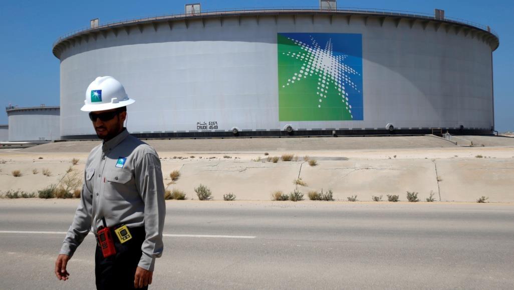 موظف في شركة أرامكو السعودية