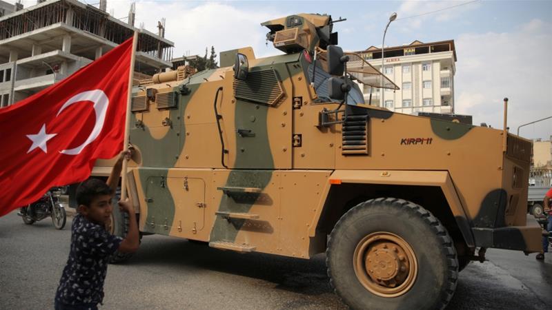 مدرعة عسكرية تركية محلية الصنع