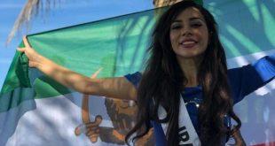 ملكة الجمال الإيرانية بهاره زاري بهاري