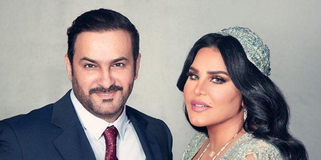 أحلام وزوجها مبارك الهاجري