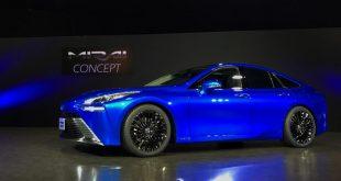 السيارة التي تعمل بالهيدروجين من تويوتا