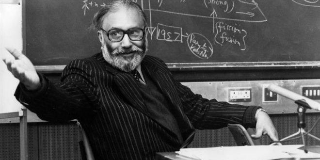العالم الباكستاني الحائز على جائزة نوبل في الفيزياء محمد عبد السلام