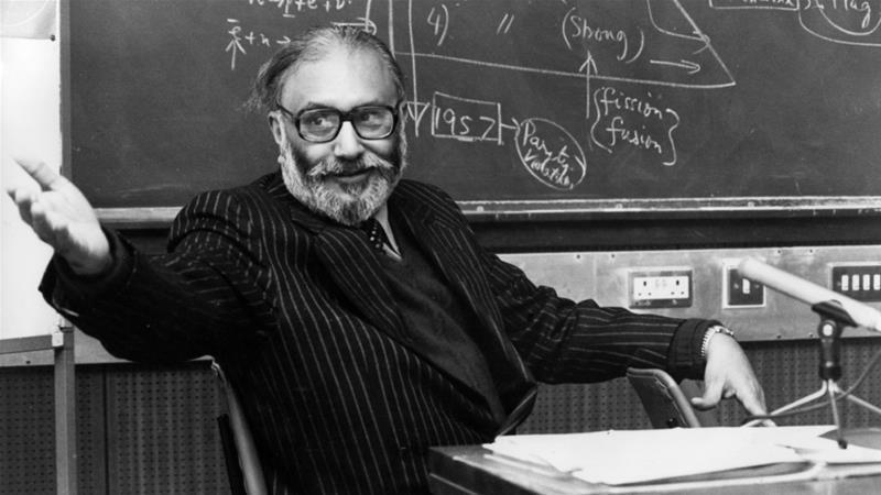 صورة أول باكستاني حائز على جائزة نوبل لم يسمع به أحد