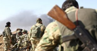 جانب من العملية العسكرية التي نفذتها تركيا والمعارضة السورية ضد المسلحين الأكراد في شمالي شرق سوريا