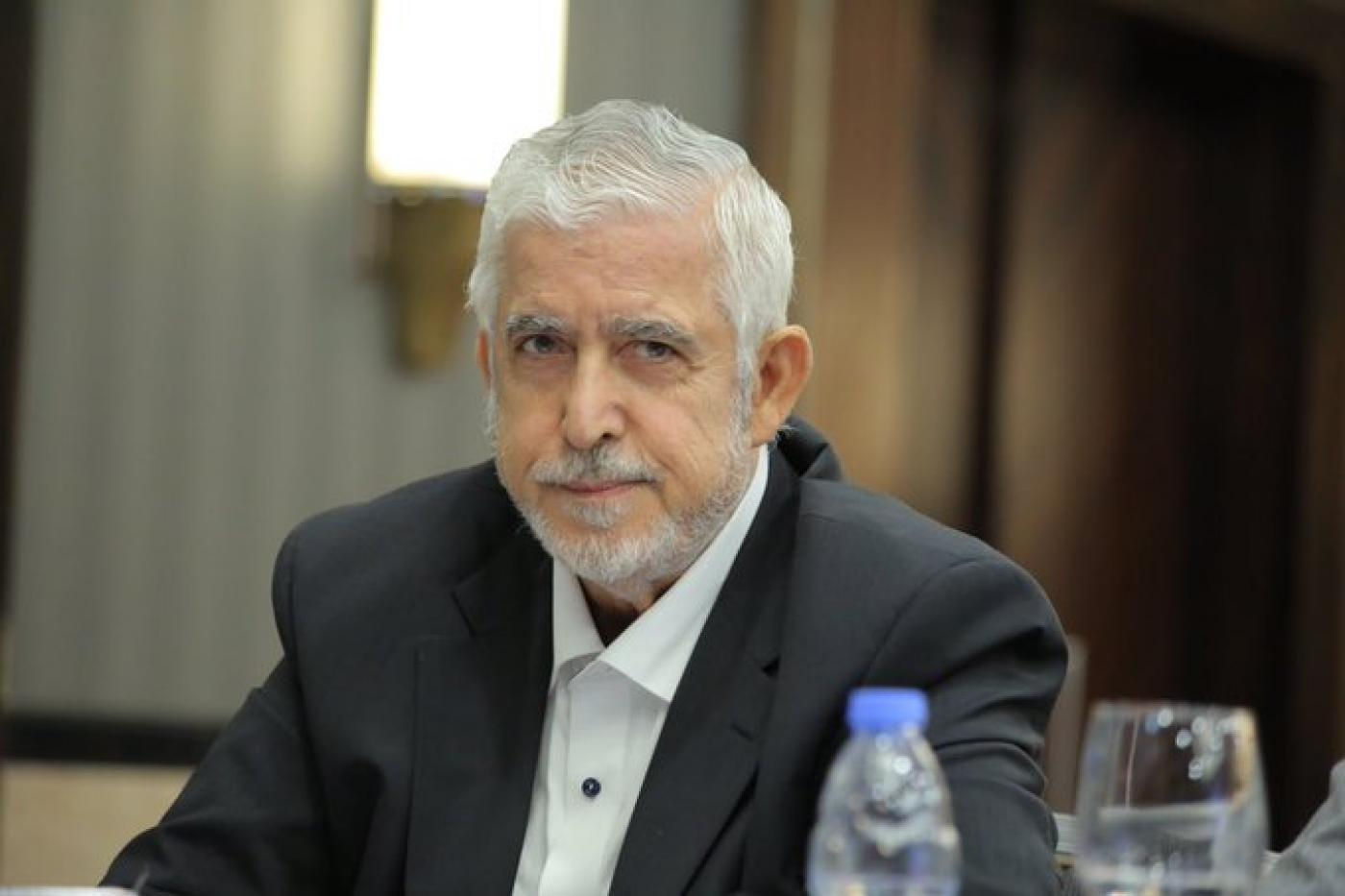 محمد الخضري القيادي في حماس المعتقل في السجون السعودية وابنه الأكبر هاني