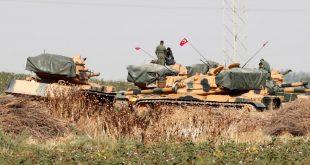 قوات تركية مشاركة في العملية العسكرية شمالي شرق سوريا