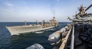 سفن البحرية الأمريكية في 10 أغسطس بمياه الخليج