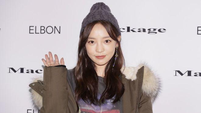 المطربة والممثلة الكورية الجنوبية جوو هارا التي عثر عليها ميتة