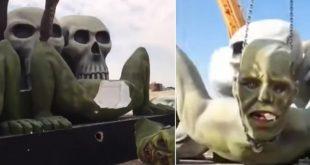التماثيل التي حطمها سعوديون