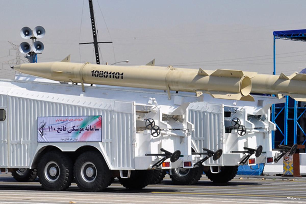 جانب من القوة الصاروخية الإيرانية