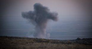هجوم صاروخي في العراق