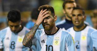 ليونيل ميسي نجم منتخب الأرجنتين