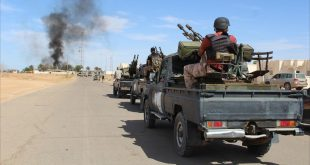 جانب من قوات حكومة الوفاق في ليبيا