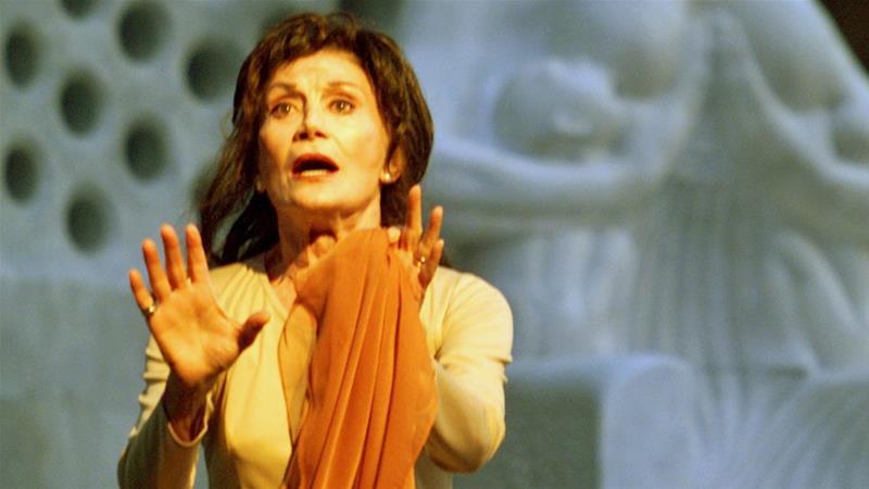 الراحلة يلدز كينتير الممثلة المخضرمة في السينما والمسرح التركي