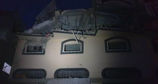 المنزل الذي اغتال فيه الجيش الإسرائيلي القيادي العسكري في الجهاد الإسلامي