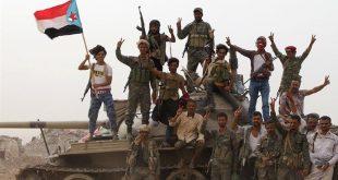 أفراد القوات الانفصالية المدعومة من الإمارات في جنوب اليمن