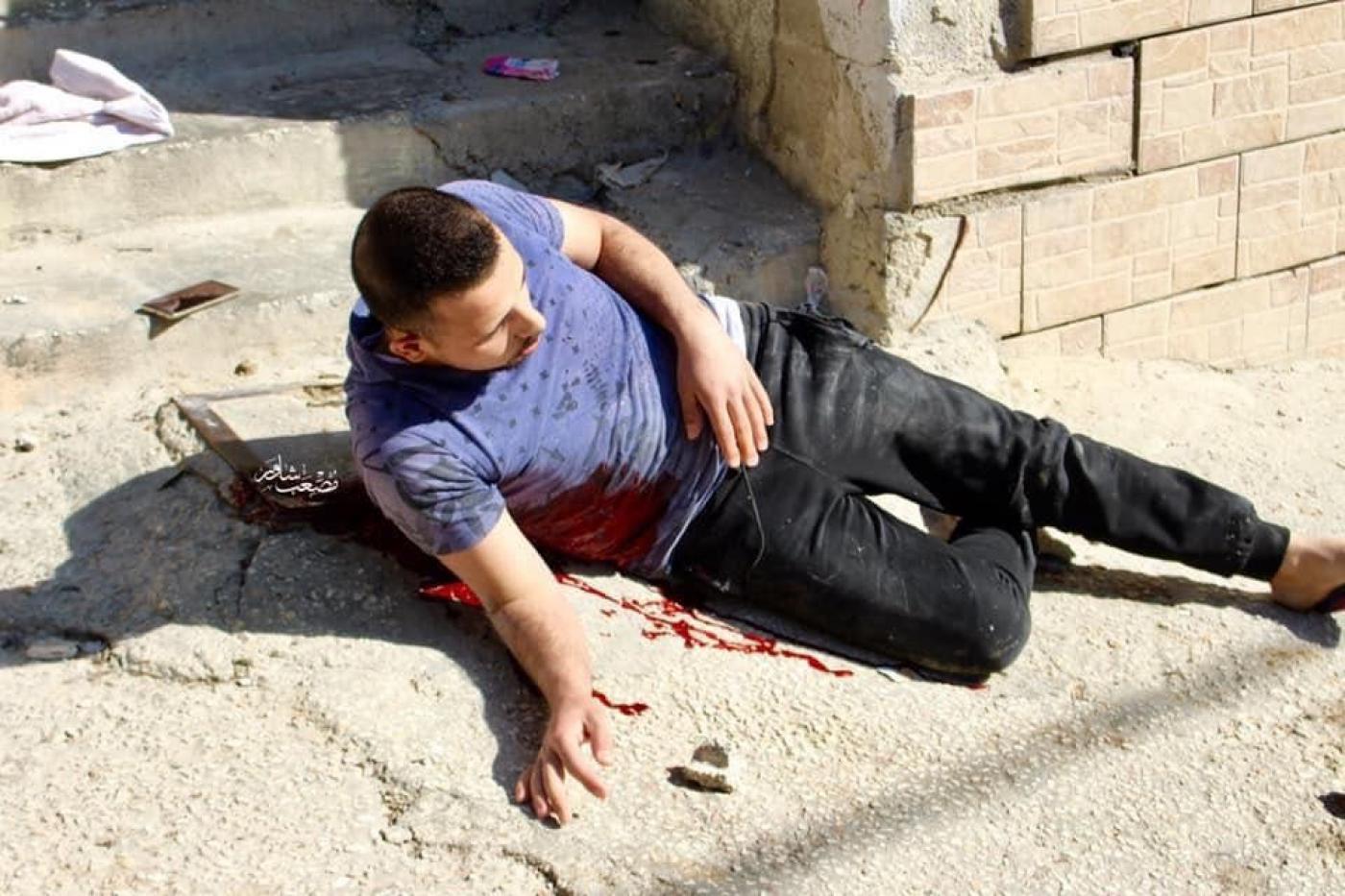 الشاب الفلسطيني الذي استشهد برصاص قوات الاحتلال في الخليل
